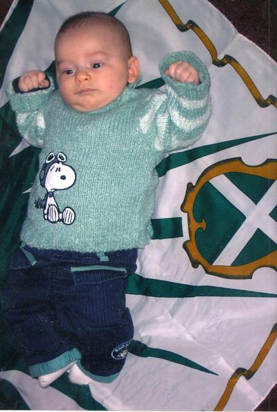 Mattia Lanucci, figlio di Luca e Loretta nato il 14-08-2006